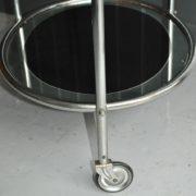 chrome drinks trolley