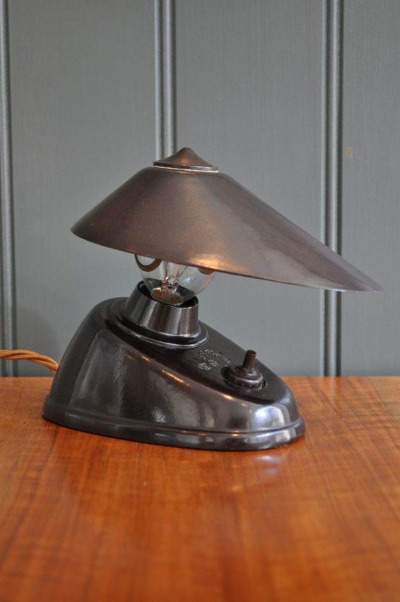 Continental bakelite lamp