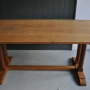 English oak table