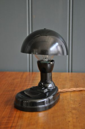 Small bakelite lamp