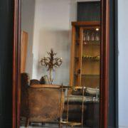 Mahogany mirror