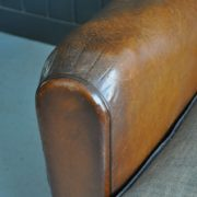 French leather chair