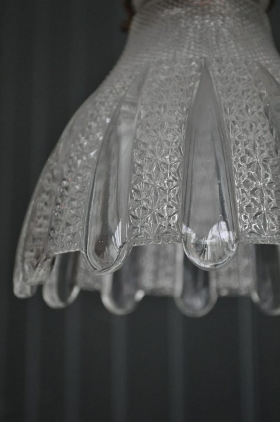 German glass pendant