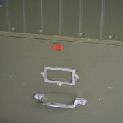 Metal filing drawers