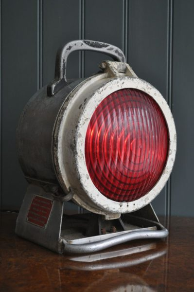 French Red lamp