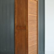 tambour front cabinet