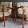 Pair Czech armchairs