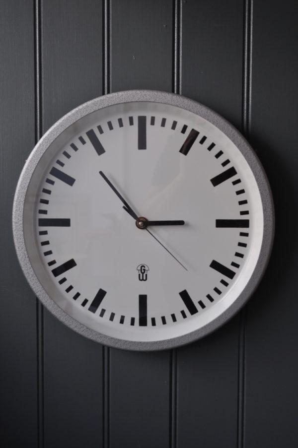 German metal clock