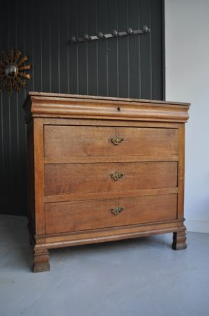 French oak chest