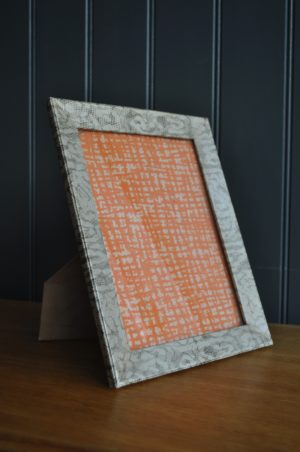 snakeskin photo frame