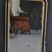 French foxed mirror