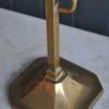 Brass shaving mirror