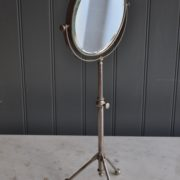 nickel shaving mirror