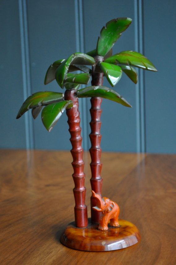Bakelite palm tree