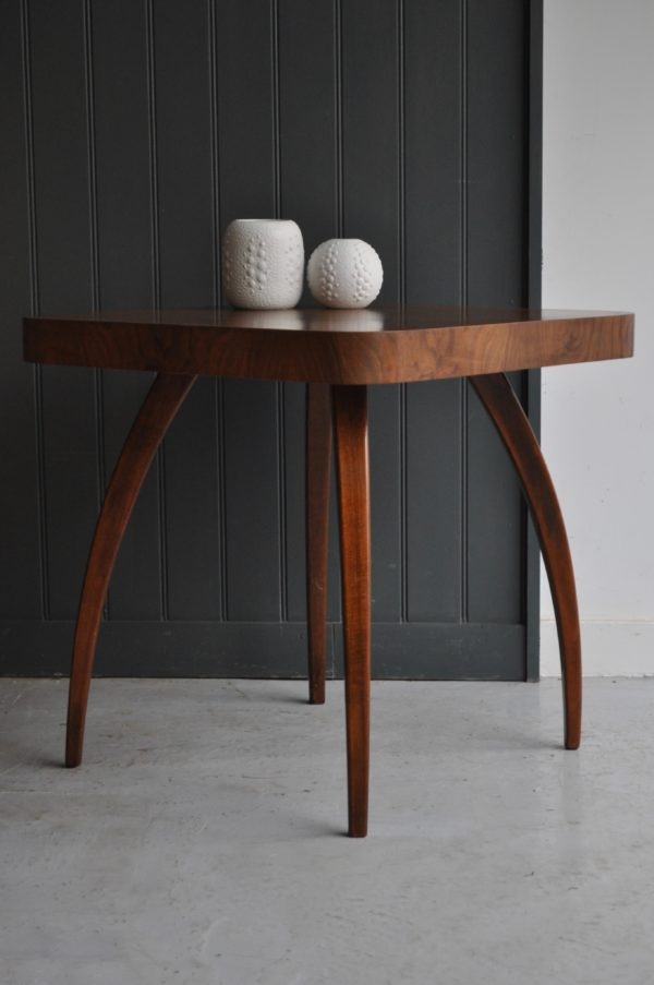 Walnut Spider table