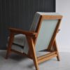 French oak armchair