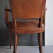 Pair of bridge chairs