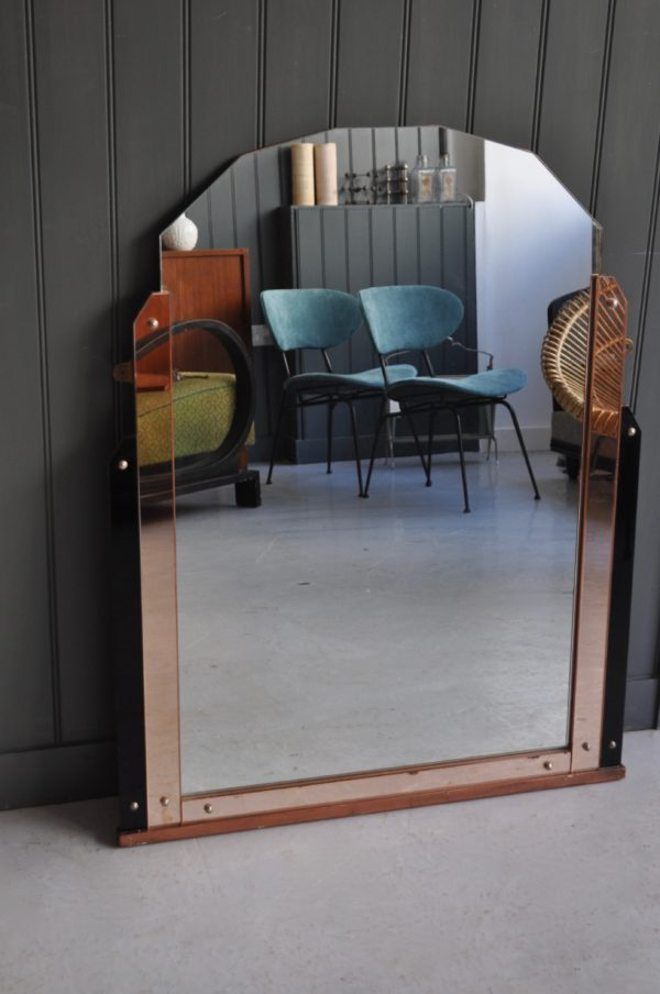 Over-mantle mirror