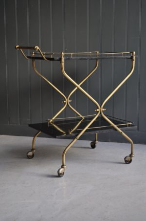 French bar cart