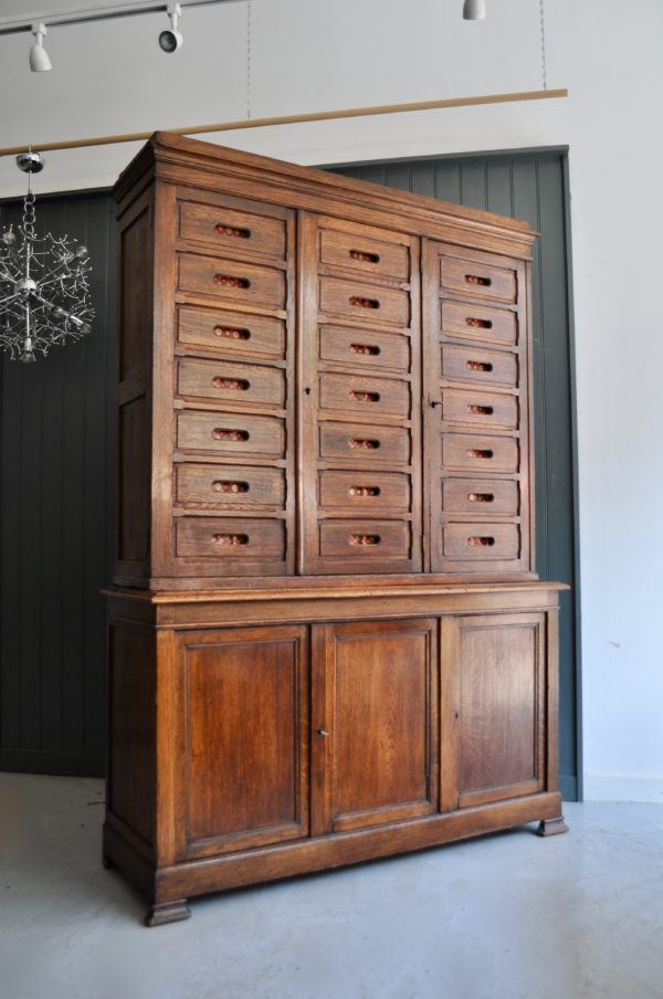 French oak cabinet