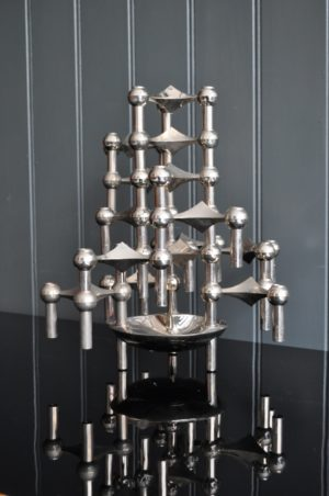 Stacking candlesticks