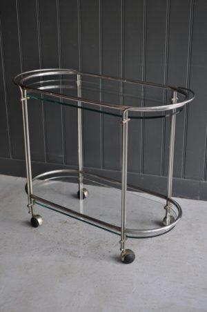 Italian chrome trolley