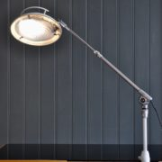 French telescopic lamp