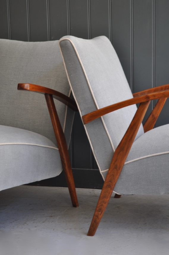 Pair of Czech chairs