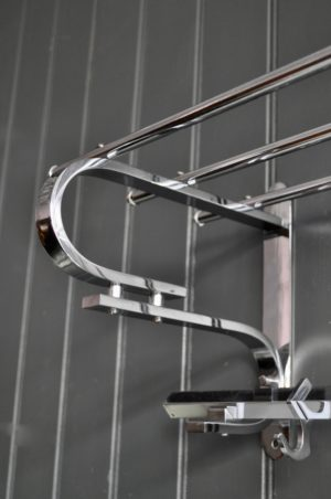 Chrome coatrack