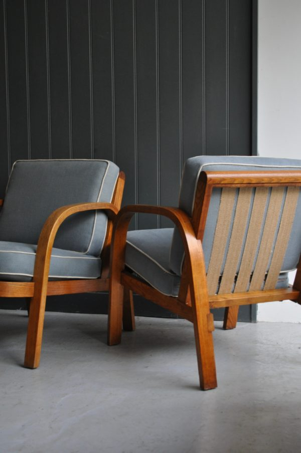 Steamed ash chairs