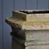 Square chimney pot