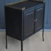 French metal cabinet