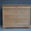 Bleached oak chest