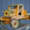 Vintage wooden truck