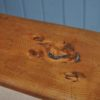 French chestnut benches