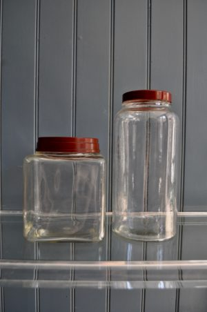 French storage jars