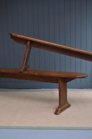 French chestnut benches