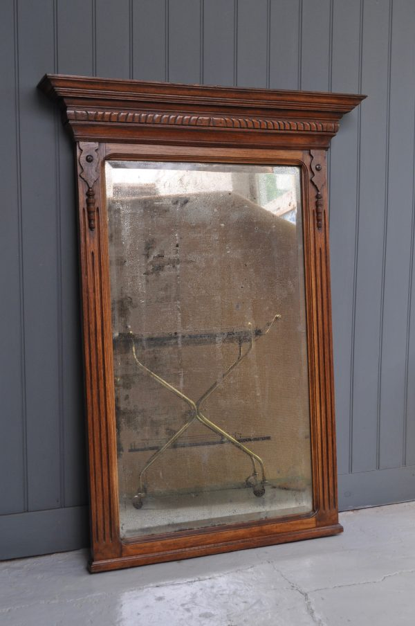 French over-mantle mirror