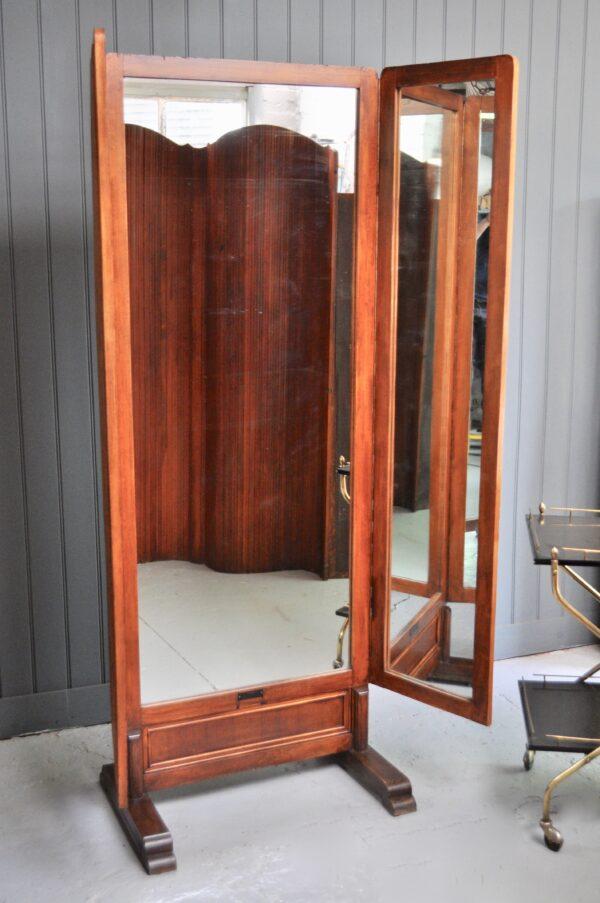 Belgian Cheval mirror