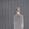 Pleated glass pendant