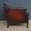 Vintage leather armchair