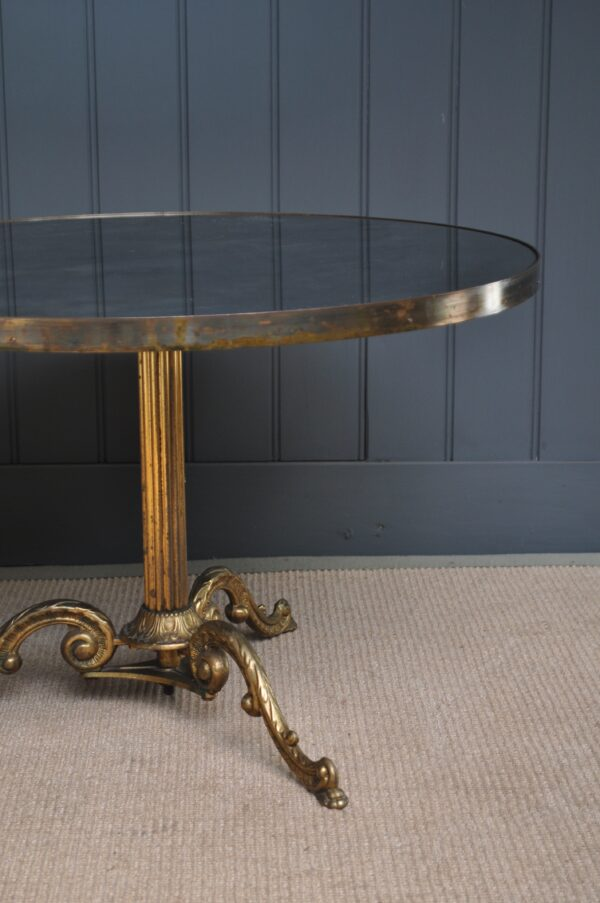 French mirrored coffee table