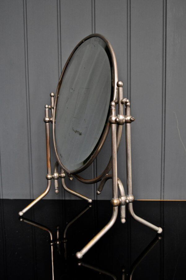 French toilet mirror