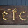 19C shop sign