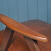 Mid-century leather armchair