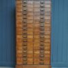 34 drawer oak chest