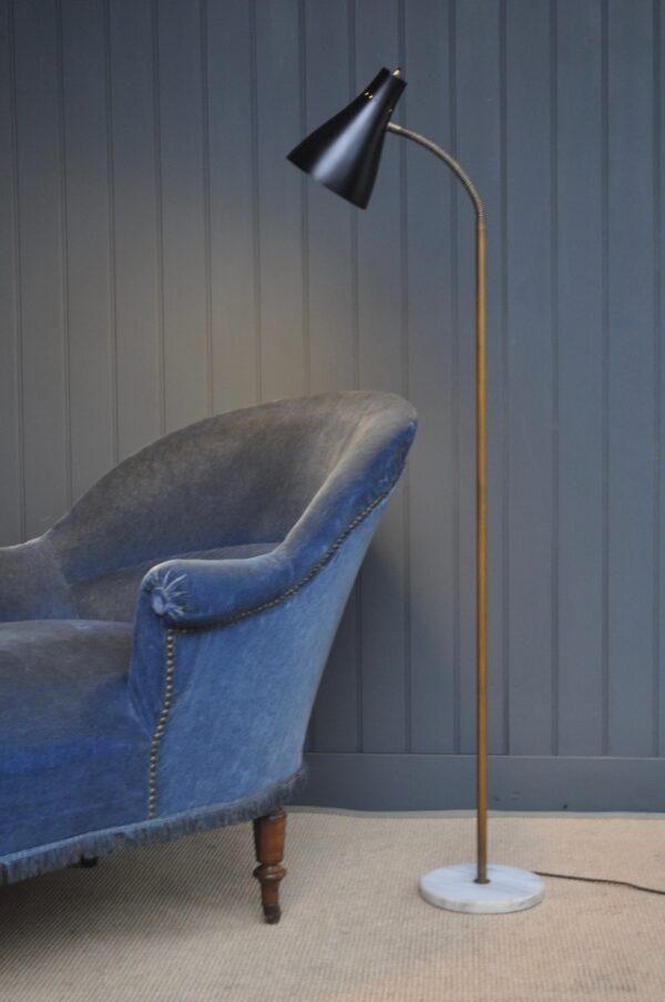 Italian mid-century floor-lamp