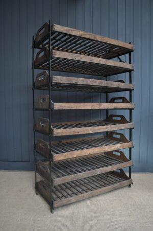 Vintage baker's rack