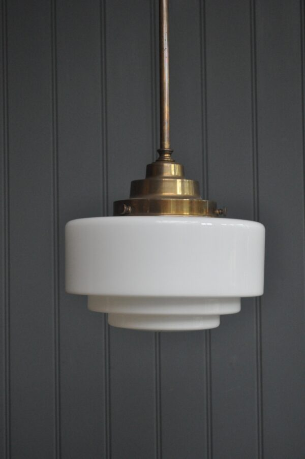 Deco opaline lamp