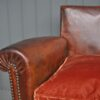 Pair of antique leather chairs